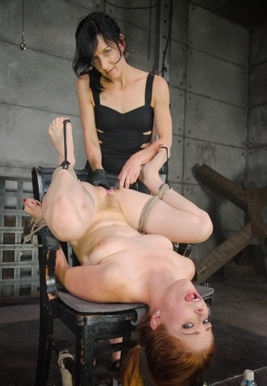 HardTied Girl on Girl Time With Elise Graves